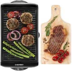 Electric Smokeless Indoor Large BBQ Griddle