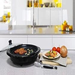Best grills - Maxi-Matic EMG-980BSC Large Indoor Electric Nonstick Grilling Surface