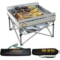 Best grills - Portable Outdoor Fire Pit and BBQ Grill