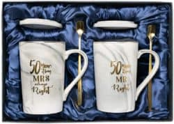 50th Anniversary Gifts For Parents -5oth Wedding Anniversary Gift mug