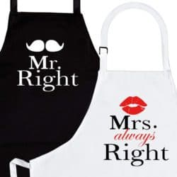 best anniversary gifts for parents - Apron Set