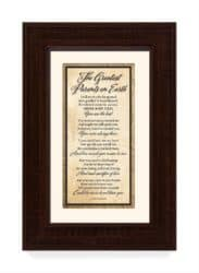 Best Anniversary Gifts For Parents -Greatest Parents Wood Wall Frame Art Plaque