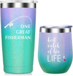 Best Anniversary Gifts For Parents - Lovers Cups Wine Tumbler