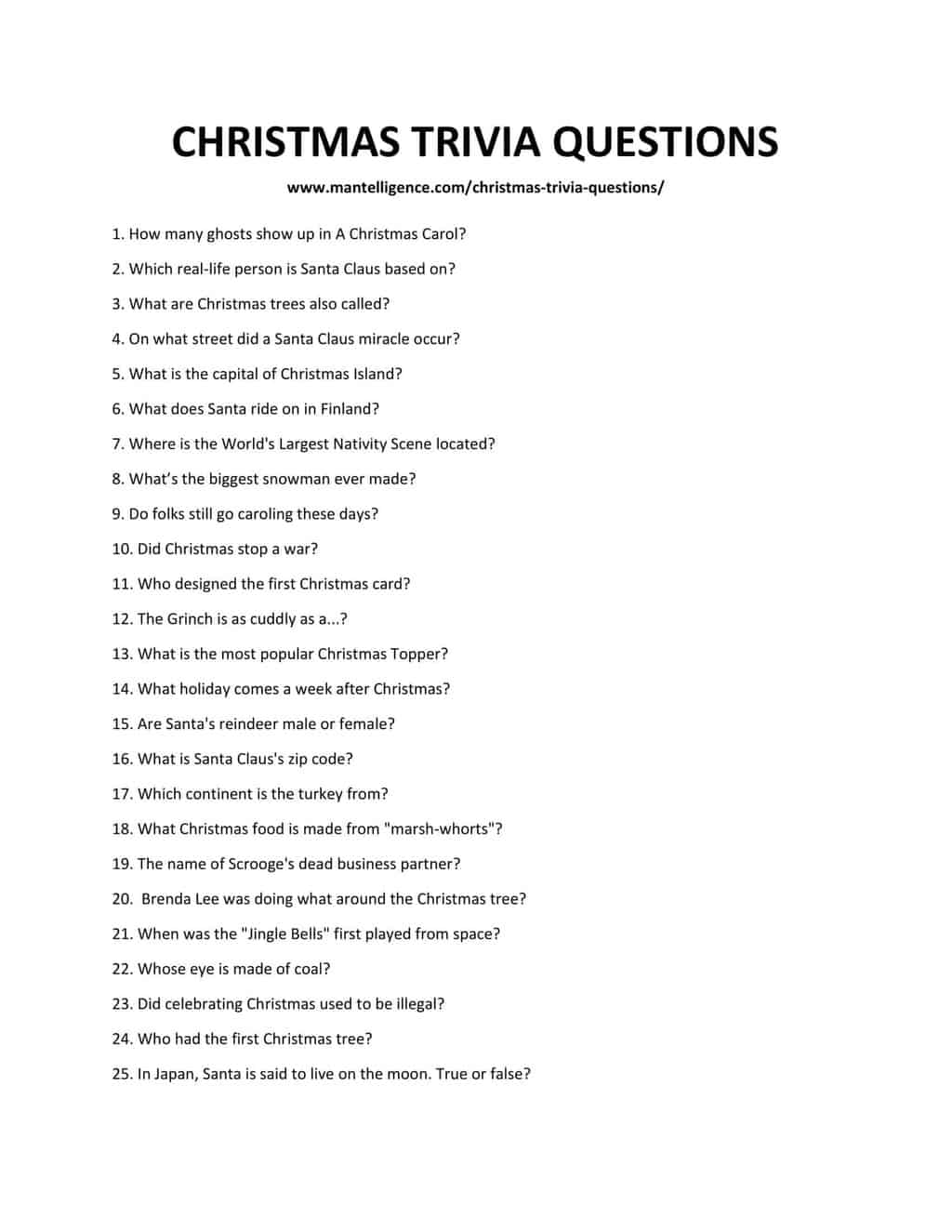 CHRISTMAS TRIVIA QUESTIONS-1 (1)