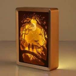 DIY anniversary gifts for parents - 3D Papercut Light Boxes Frame Night Light