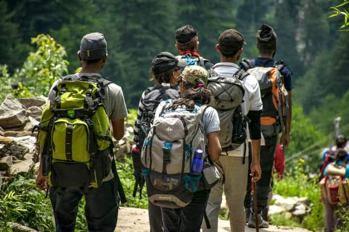 Fun Questions for Couples - Most likely to go hiking with strangers