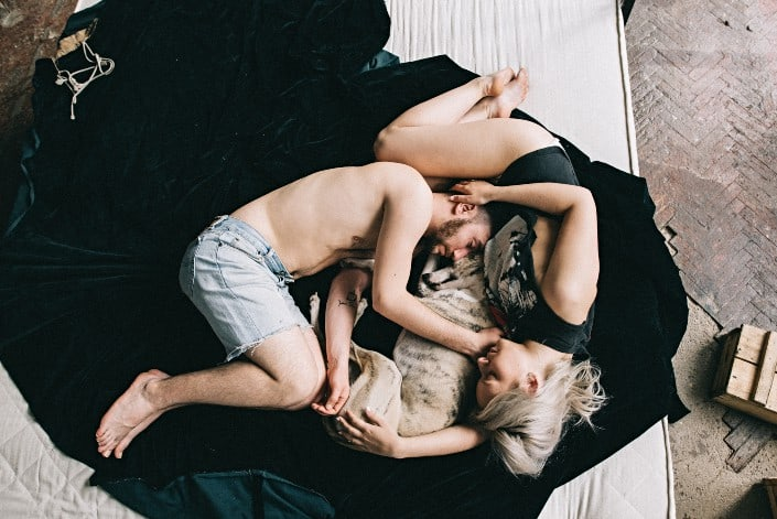 Fun Questions for Couples - Never have I ever drooled on my partner while sleeping