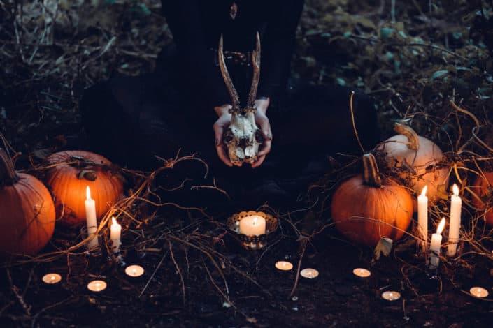 Hallowe'en was first celebrated by who? Druids.jpg