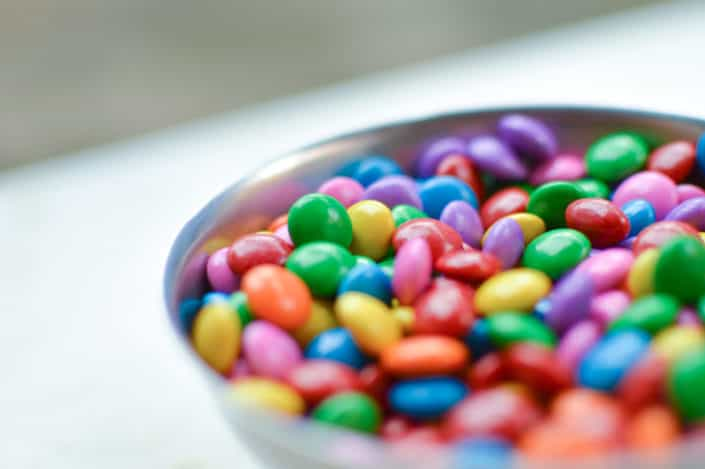 141 Trivia Questions for Adults - What does M&M stand for? Mars and Murrie.