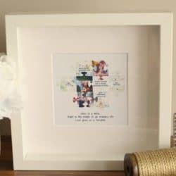 thoughtful anniversary gifts for parents - Where We Met Frame
