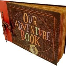 2 year anniversary gifts - DIY our adventure scrapbook