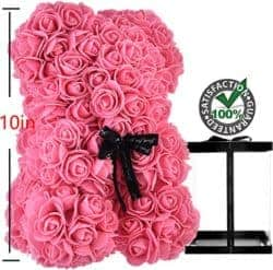 2 year anniversary gifts - Rose teddy bear