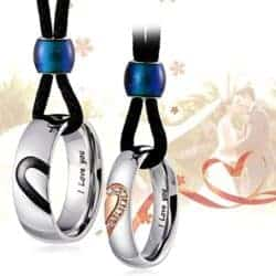 Birthday Gift Ideas For Girlfriend That Can Be For Anniversaries - Couple Pendant Necklace