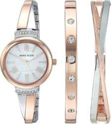 Birthday Gift Ideas For Girlfriend That Can Be For Valentine's - Swarovski Crystal Accented Watch and Bracelet Set