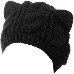 Cheap Birthday Ideas for Girlfriend - Women Cute Cat Ear Winter Hat