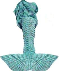 Cute Birthday Gift Ideas For Girlfriend - Mermaid Tail Blanket