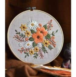 DIY Birthday Ideas for Girlfriend - Hand Embroidery Kit