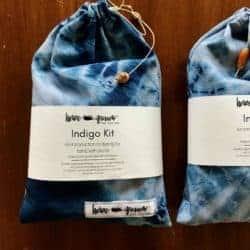 DIY Birthday Ideas for Girlfriend - Indigo Kit for Shibori Tie-Dyeing