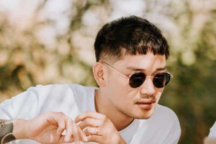 Low maintenance mens short haircuts - Caesar cut