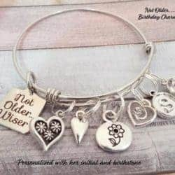 Small birthday gift ideas for girlfriend - Charm Bracelet