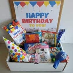Thoughtful Birthday Ideas for Girlfriend - Birthday in a Box Care Package