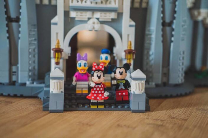 Lego of Mickey Mouse characters