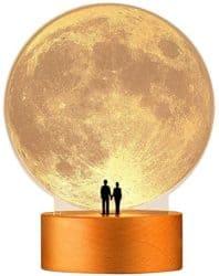 best birthday gift ideas for girlfriend - Moon Night Light