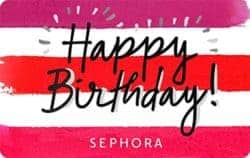 best birthday gift ideas for girlfriend - Sephora Gift Cards