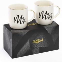Mr. and Mrs. Ceramic Mugs