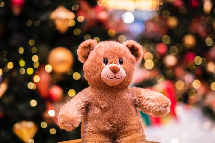 Christmas trivia questions - Name the animatronic cassette-playing bear toy that every kid wanted for Christmas in the mid 80s