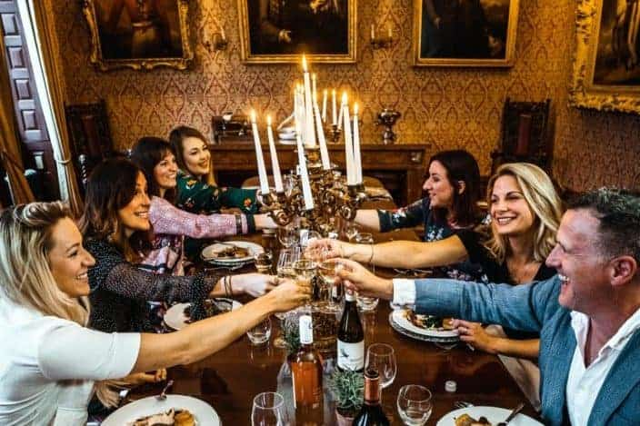 Anniversary date ideas - Host a dinner party