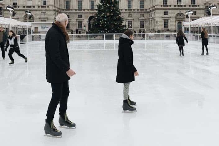 Winter date ideas - Go ice skating
