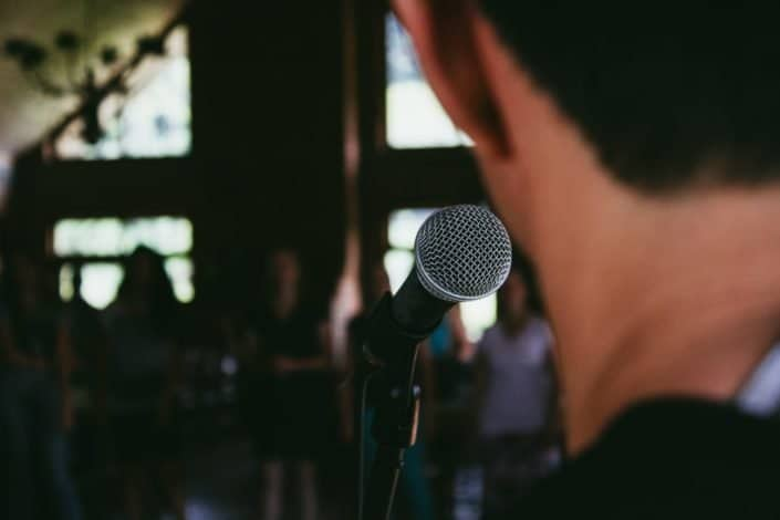 Productive things to do - Learn public speaking
