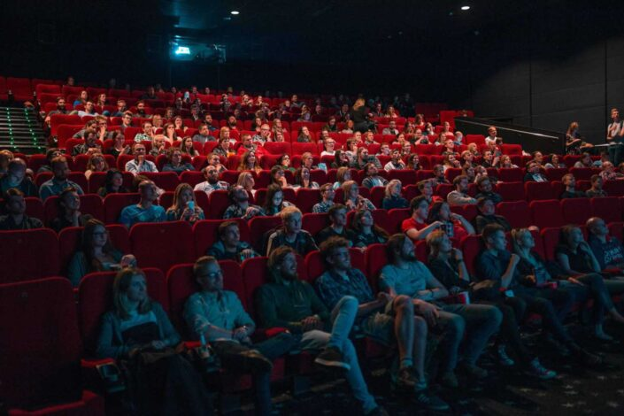 A cinema full of viewers