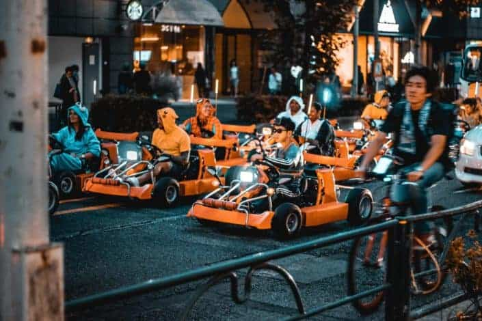 Adventurous date ideas - Race Go-Kart