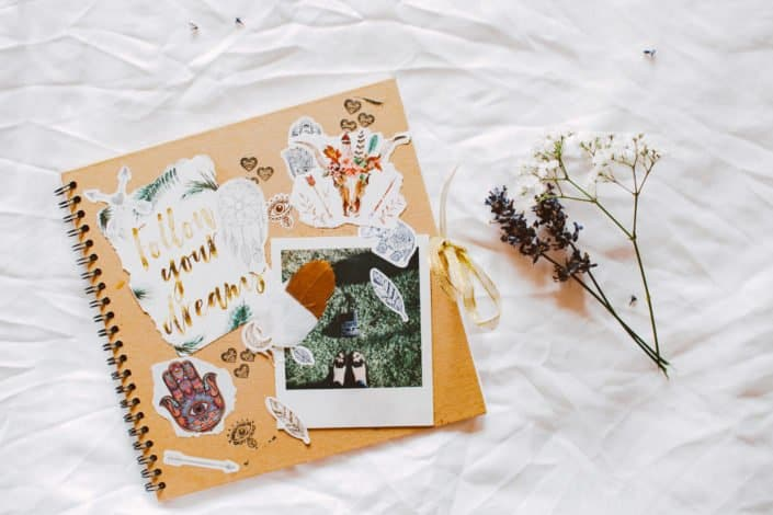 Productive things to do - Create a scrapbook