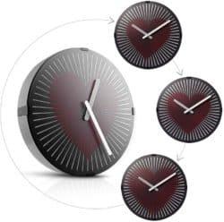 small 50th wedding anniversary gifts - Beating Wall Clock
