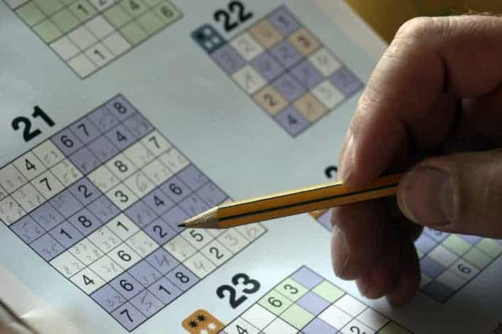 Productive things to do - Do a sudoku puzzle