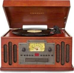thoughtful 50th wedding anniversary gifts - Crosley 3-Speed Turn Table With Radio