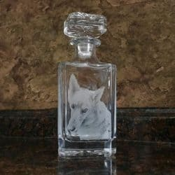 Personalized Lead Crystal Boston Decanter