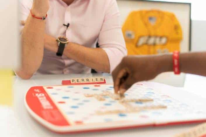 Winter date ideas - Host a scrabble tournament