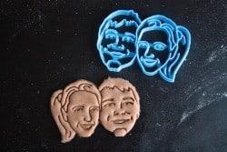 Couple — Face Portrait Cookie Cutter (1)