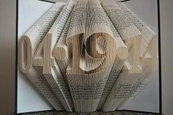 Folded Book Art (1)