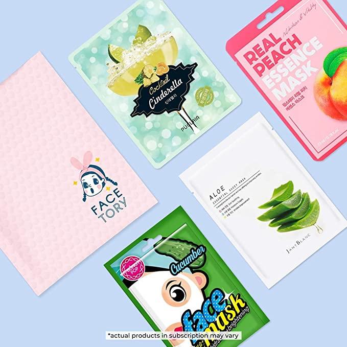 Handpicked Korean Sheet Masks Subscription Box