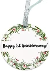 Wedding Anniversary Ornament