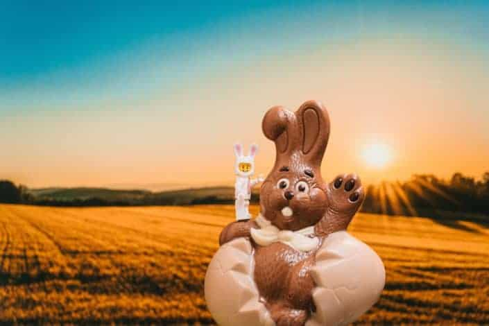 How many chocolate Easter bunnies are made every year? 90 million.jpg