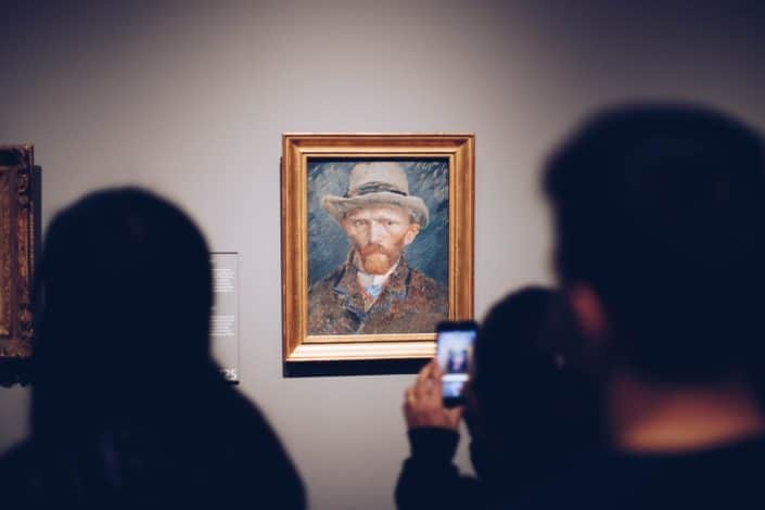 The Van Gogh museum is located in what European capital city? Amsterdam.jpg