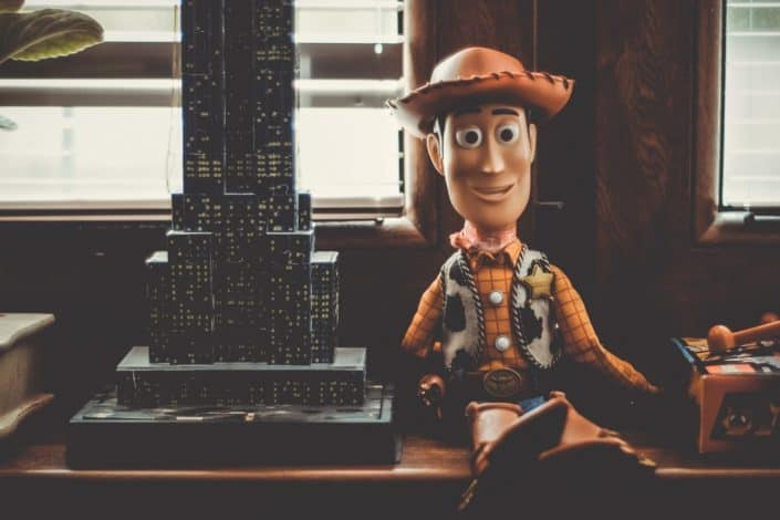 What is the name of the child who owns the toys in Toy Story