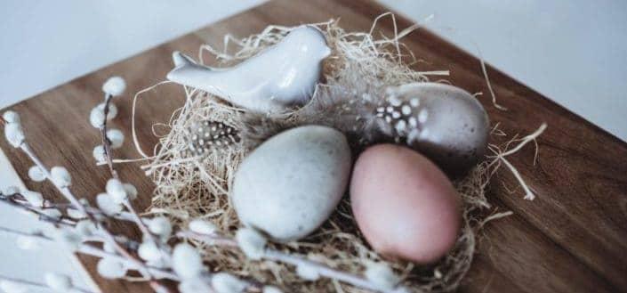 Creatively designed Easter eggs