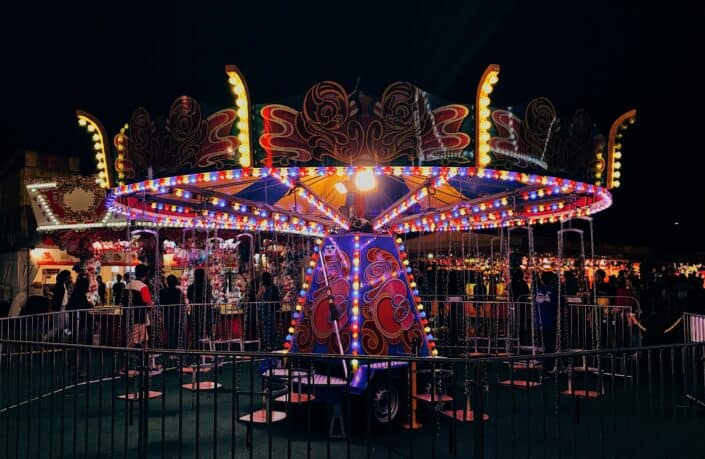 65. Go to the amusement park